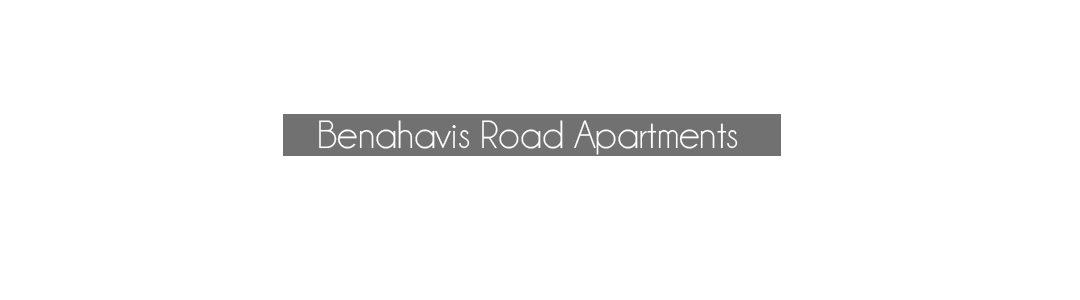 Benahavis road apartments